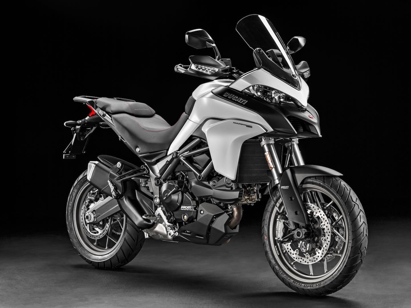 Ducati Multistrada Skyhook Suspension