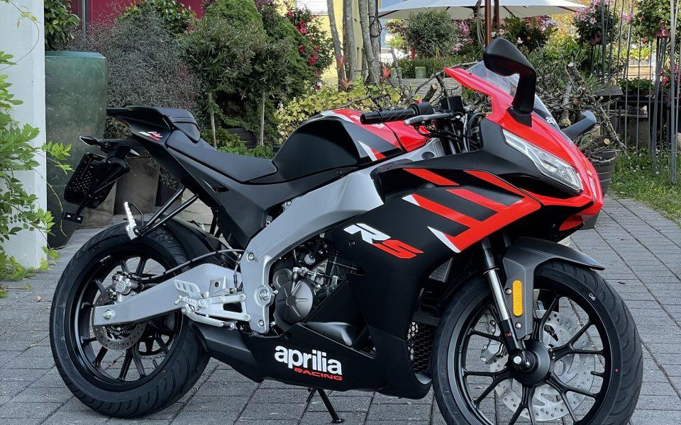 Aprilia RS125 E5 2021 Black