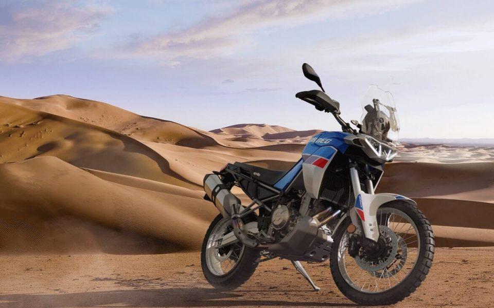 Aprilia Tuareg 660 2022 Rally Tribute leupimoto