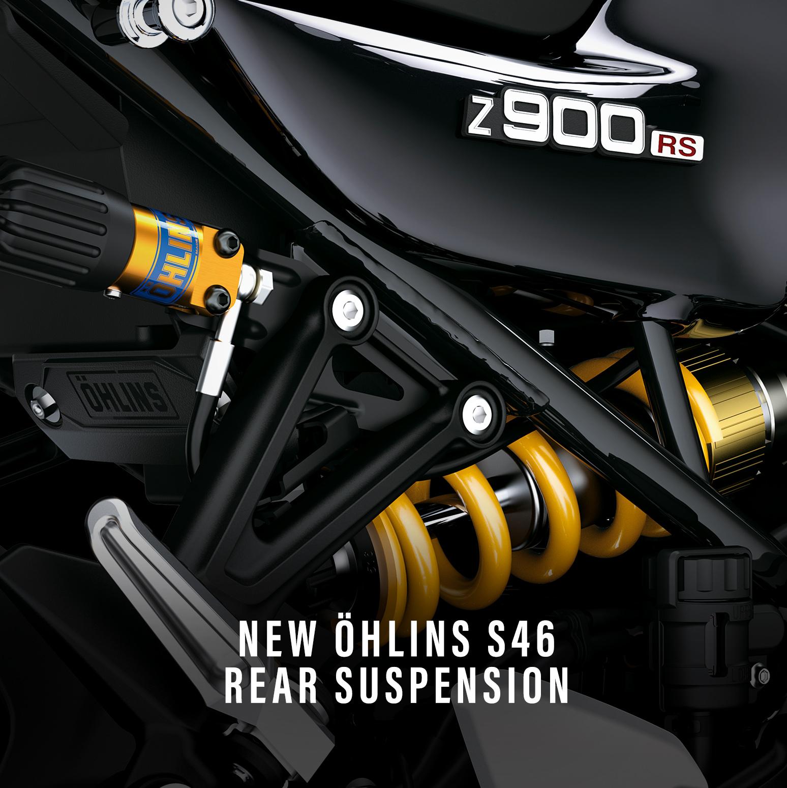Kawasaki Z900 RS SE Yellow Ball leupimoto