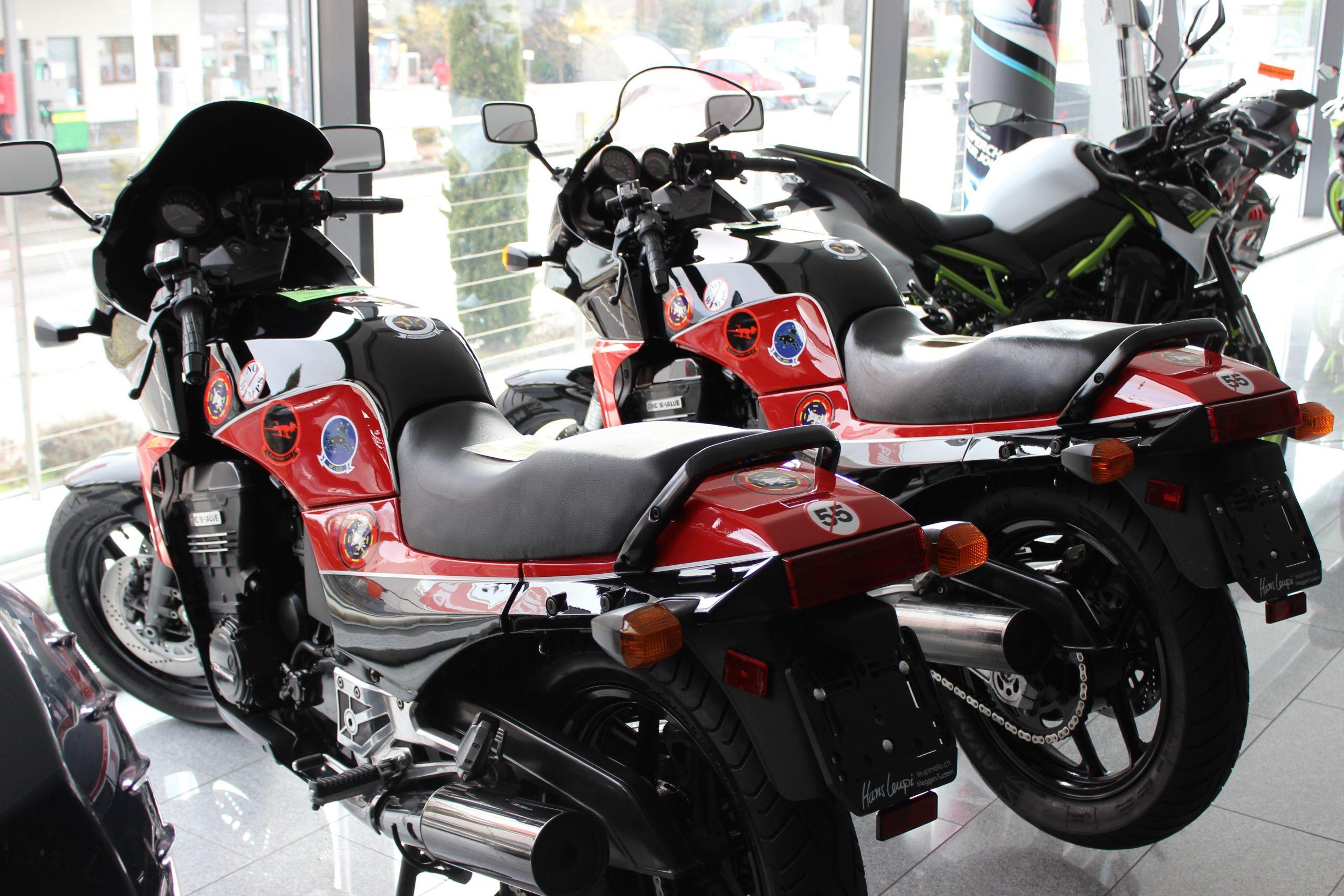 Kawasaki GPZ 900 R Top Gun , Tom Cruise , TopGun , Hans Leupi leupimoto in Meggen