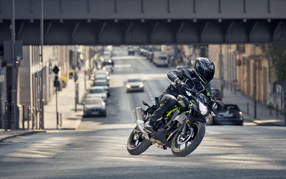 Kawasaki Z125 & Ninja 125 - neue Farben 2022